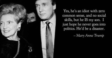 Image result for donald trump's mother quote