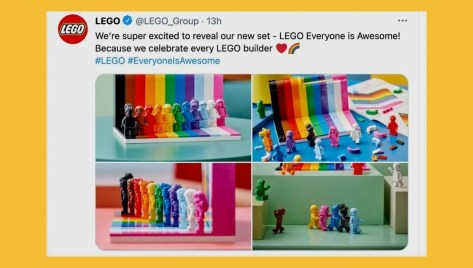 Is the Rainbow LGBTQ+ Lego Set Real?