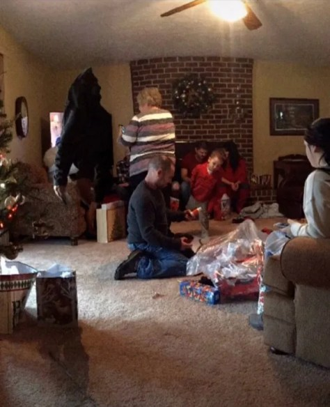 The photo from Christmas Day purportedly showed some kind of paranormal activity, a demon, or a ghost, and was posted on TikTok.