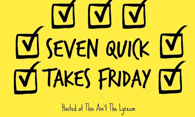 7 Reasons I'm Still Blogging (Happy 7 Quick Takes Anniversary!)