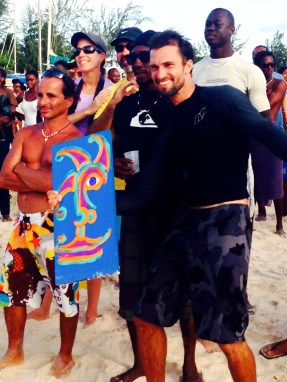 Naish One 2014 Stand Up Paddle Caribbean Race Champion