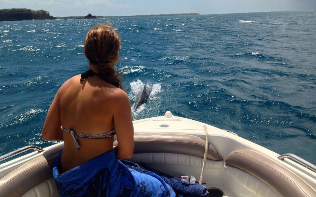 First Dolphin Experience on Snorkeltobago