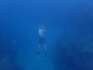 Free dive fun