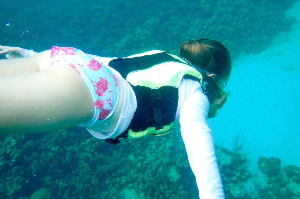 Jesse taking a dive