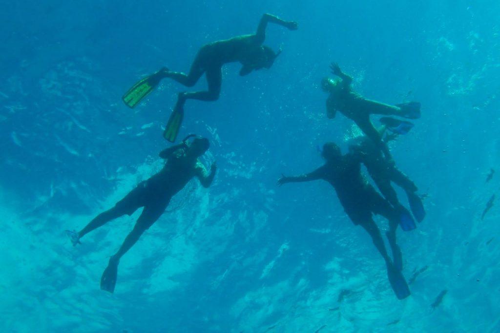 Family Snorkel Tobago