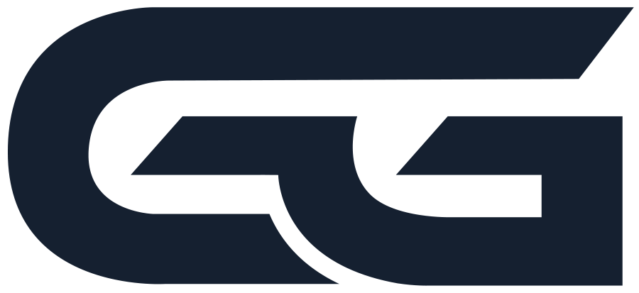 GG Logo Emblem blauw