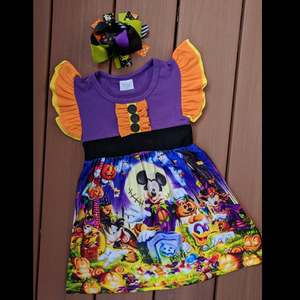 cccfdb0814 Disney Nightmare Before Christmas Dress (Bow is SOLD OUT) – Snotty Tots