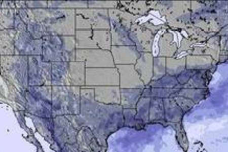 Snow and Weather Maps United States Snow Map  3 Days