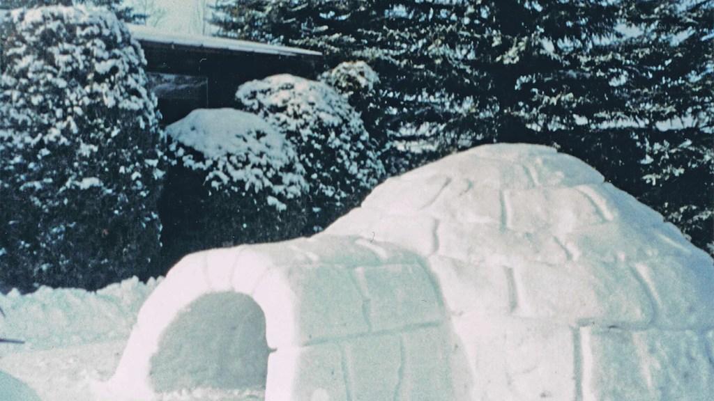How to carve an igloo!