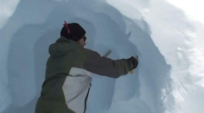 The Amazing Snow Saw