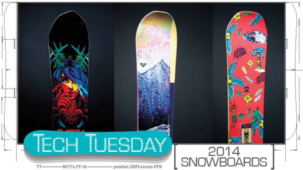 b33d077b88 Tech Tuesday: must-see 2014 snowboards   Snowboarder Magazine