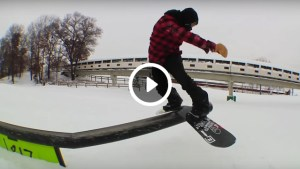 Monday Minute 89 snowboarding at Buck Hill with 1817
