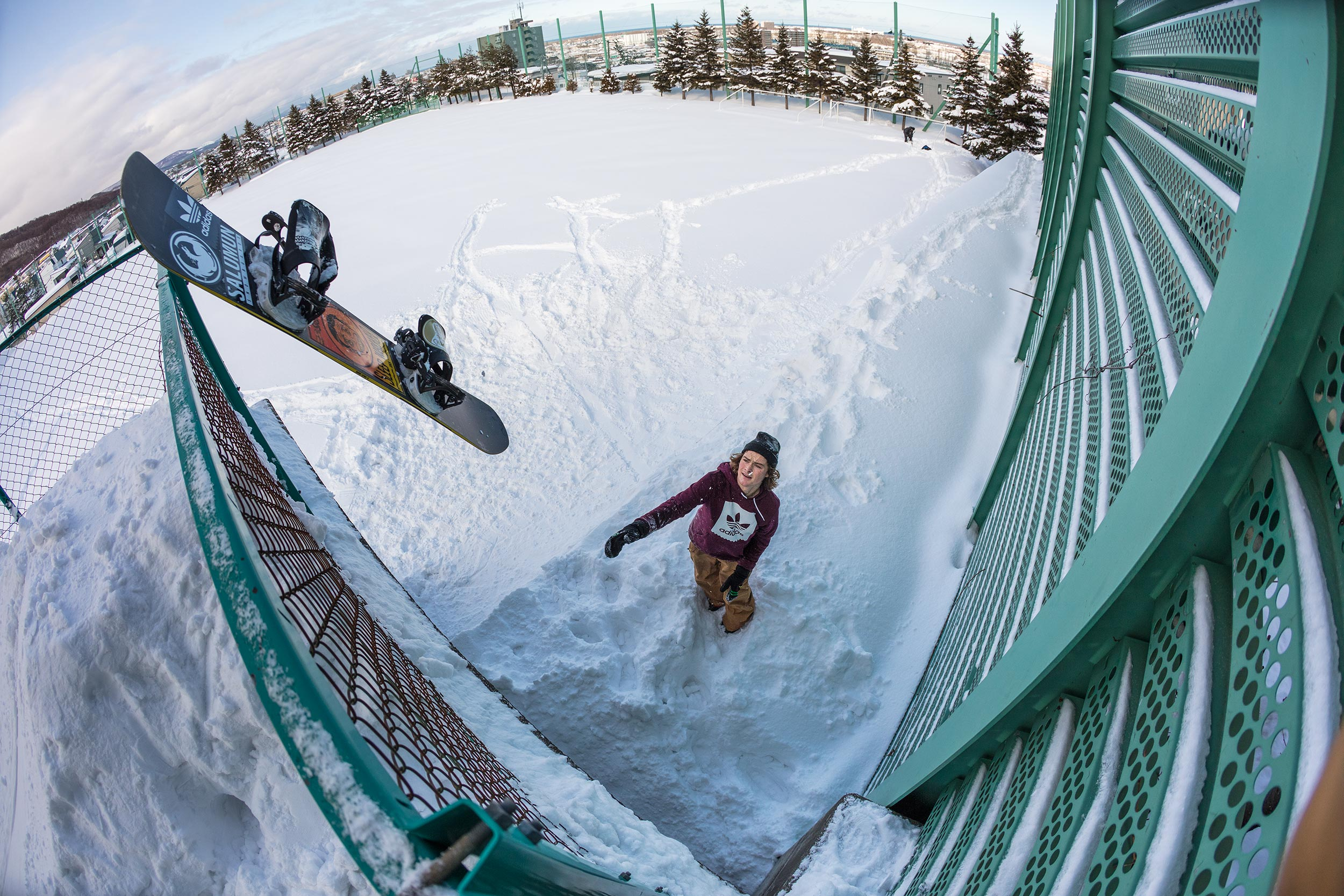 Setting Up: A Profile of Tommy Gesme   Snowboarder Magazine