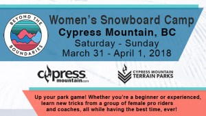 BTBounds womens snowboard camp Cypress Mountain March18 fi