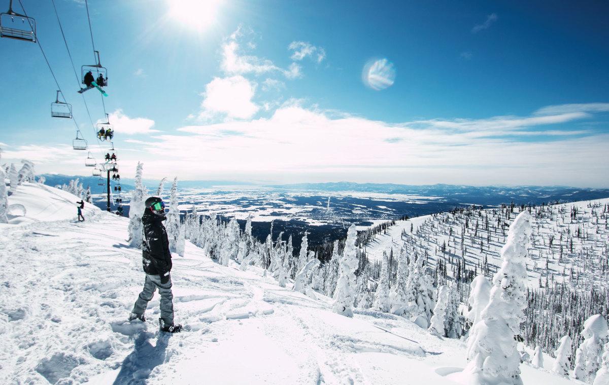 Whitefish Mountain Best Snowboarding Resorts 2019