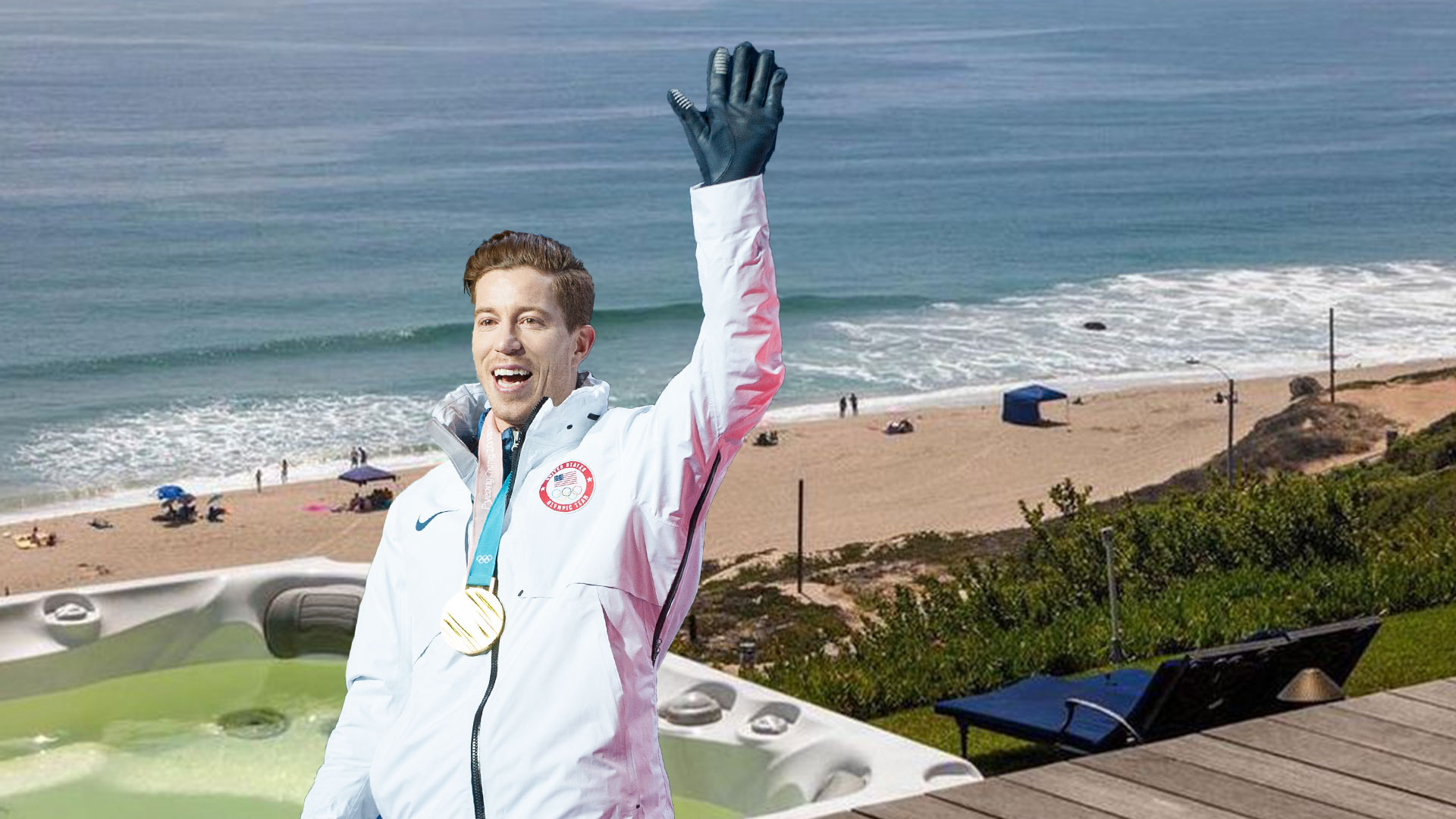 Hanging Out At Shaun White's House Would Be The Shit