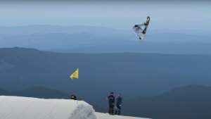 Mark McMorris Snowboarding Mt. Hood