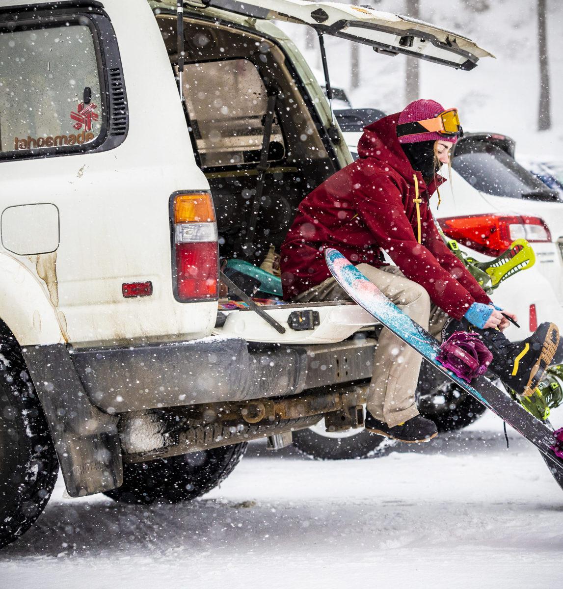 Ikon Pass snowboarding