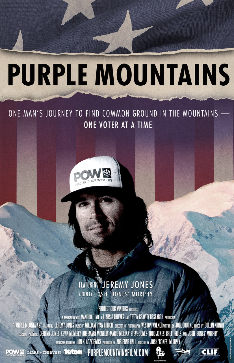 Jeremy Jones Purple Mountains Movie