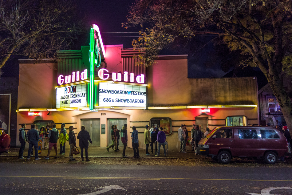 The SNOWBOARDER Movie, SFD, the guild, Seattle