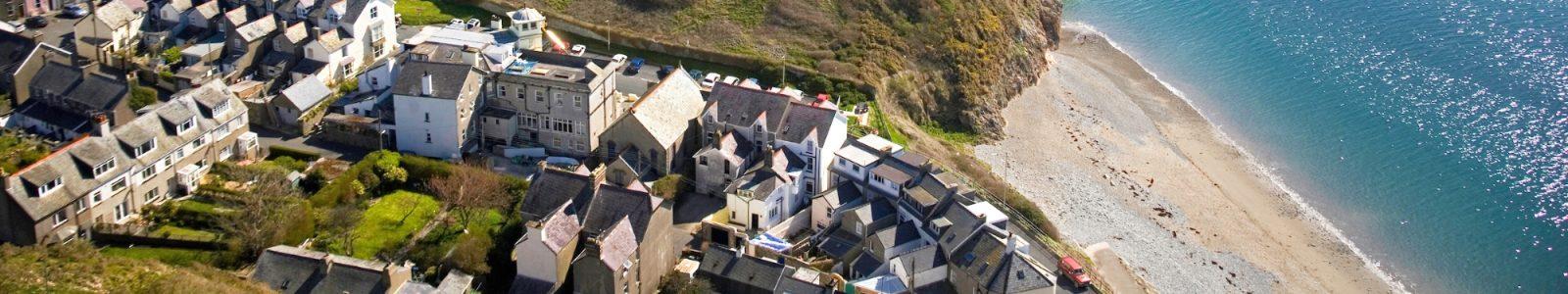 Houses in Criccieth - Snowdonia Caravan Park Llwyn Bugeilydd