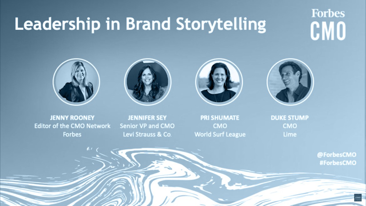 Leadership In Brand Storytelling | Panel Discussion By Forbes CMO