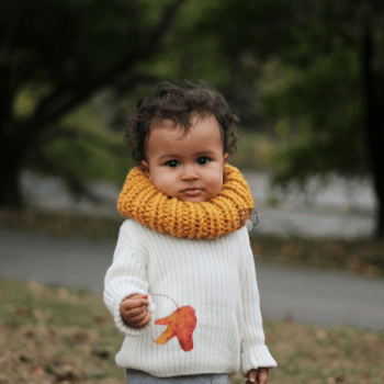 Winter Knit Scarf Toddler
