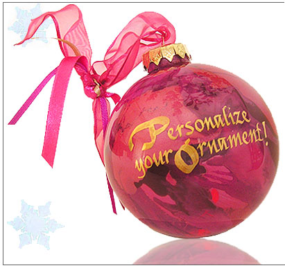Hand Painted Ornaments, Customized, Personalized Christmas Ornaments by