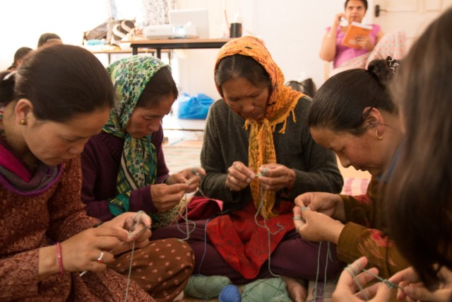 Access to alternative sources of income such as the sale of handicraft can change a community's attitude towards snow leopards