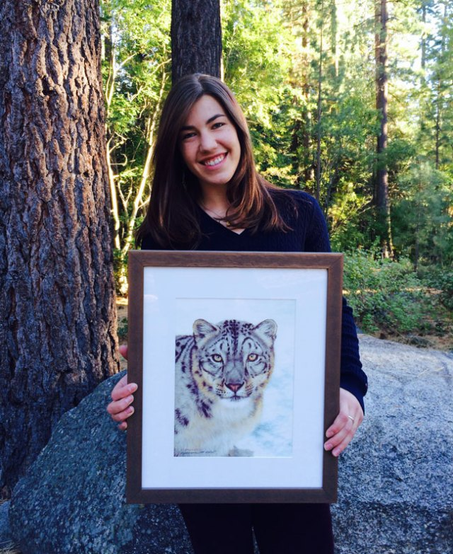 Lila and the picture that started her snow leopard love affair