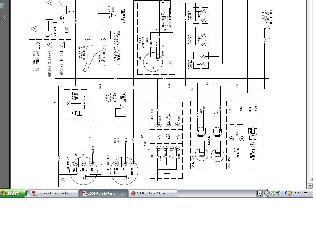 Cross Country Wiring Diagram