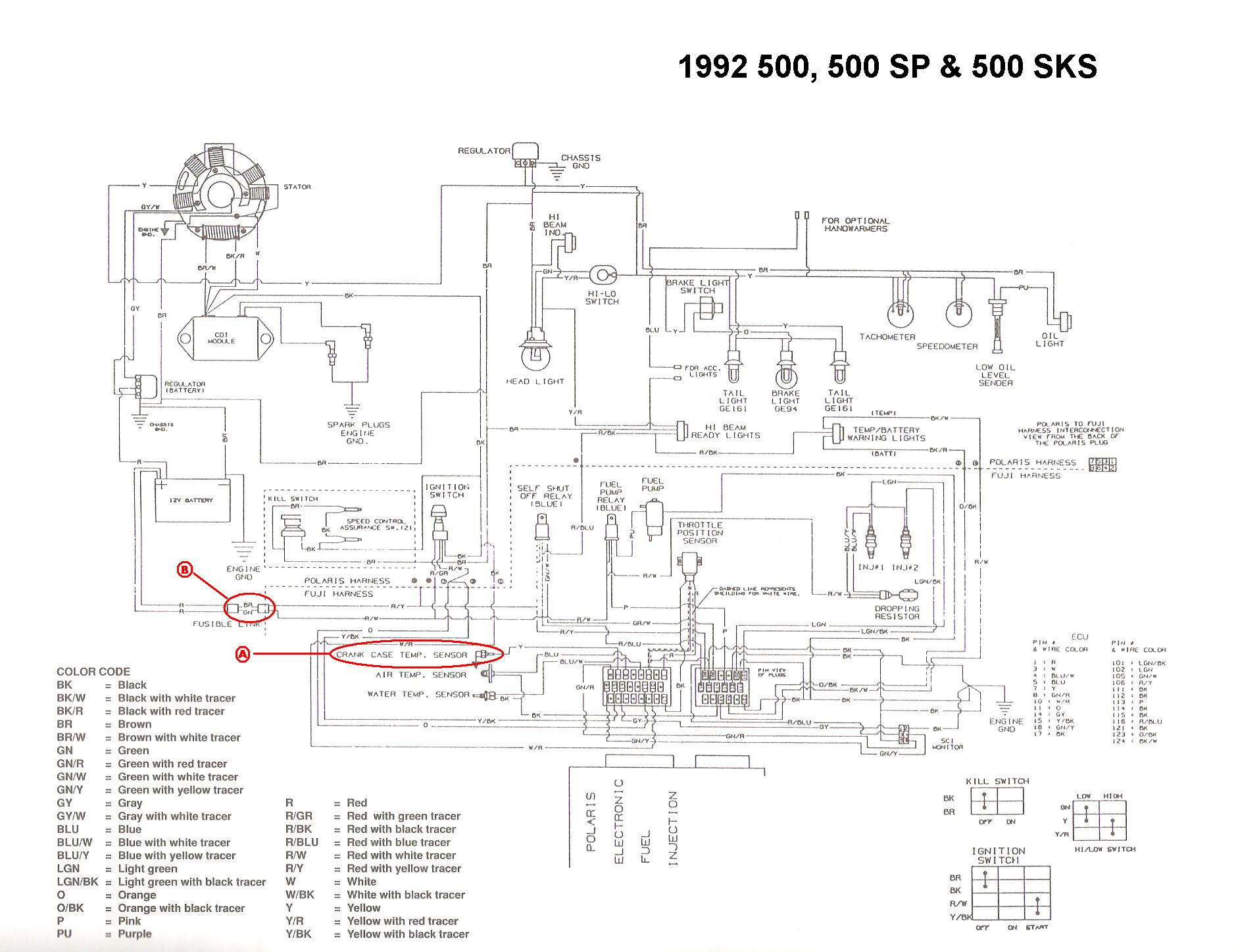 Polaris Ranger 500 Wiring Diagram