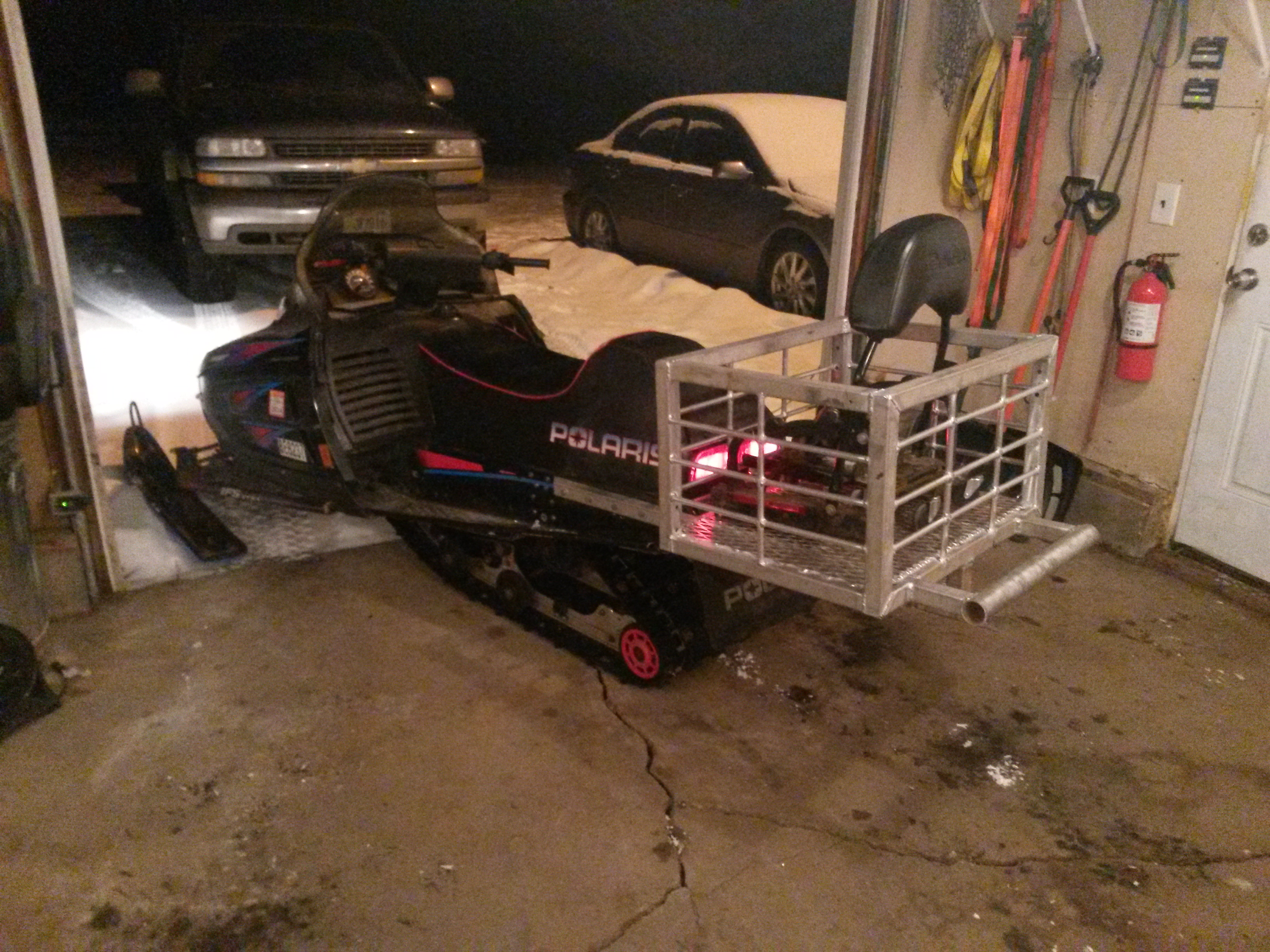Ice Fishing Sled Build 96 Indy 500 Page 3