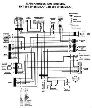 2004 Ski Doo Rev Wiring Diagram  Wiring Diagram