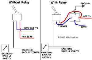 Alan's Reverse Light Wiring Diagram  Snowplowing