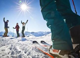 Skifahren im Skicircus saalbach.com, Mirja Geh