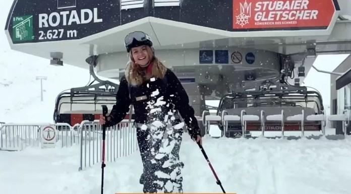 Stubai Verse Sneeuw