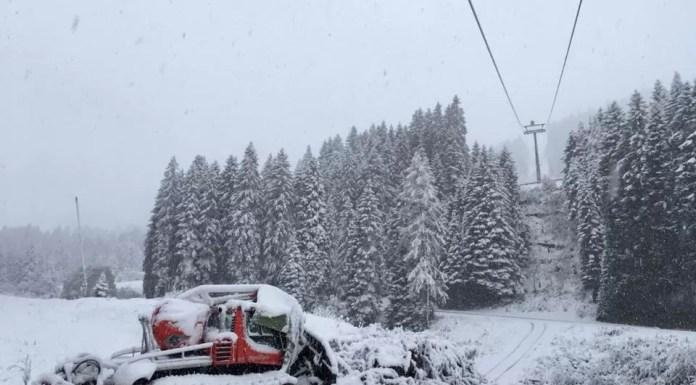 Sneeuw in Montafon