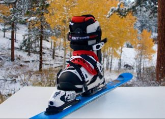 The Envy Ski Frame and Boot System