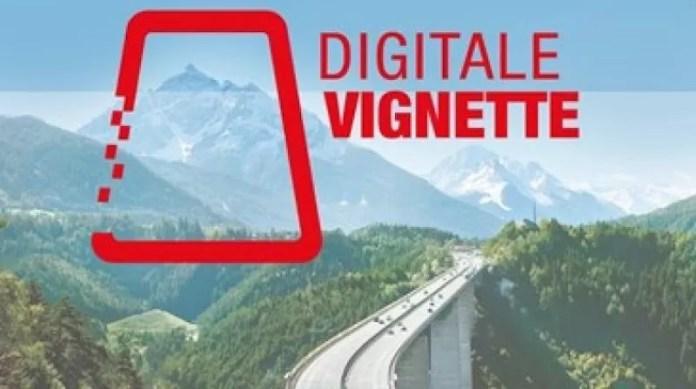 Oostenrijks Autobahn Vignet digitaal