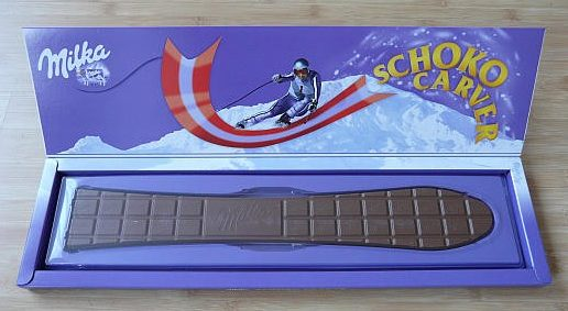 milka ski chocolade