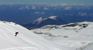 Vulkaan Erciyes Turkije