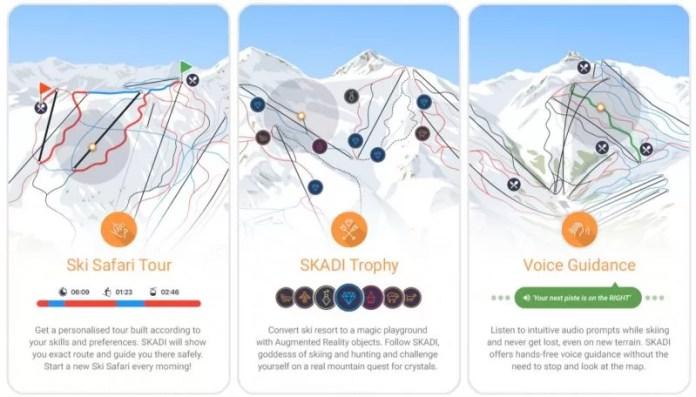 Skadi - de nieuwe app in de bergen