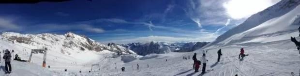Gletsjer Zugspitze