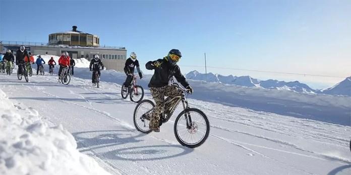 Glacier Bike Downhill - Saas-Fee - Snowrepublic - Downhillen