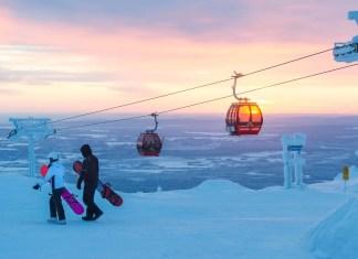Skiën in Lapland