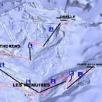 skigebied trois vallees