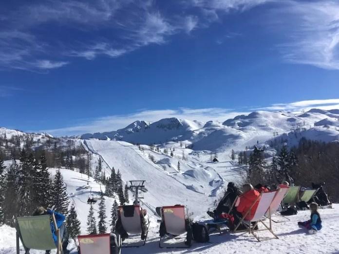 Skiën in slobvenië