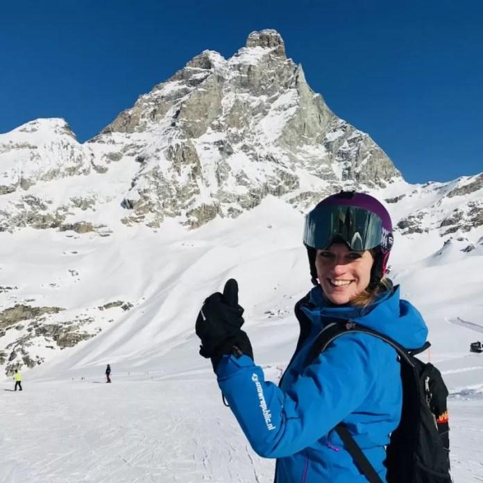 Skiën met de Matterhorn bijna altijd in zicht: wauw!