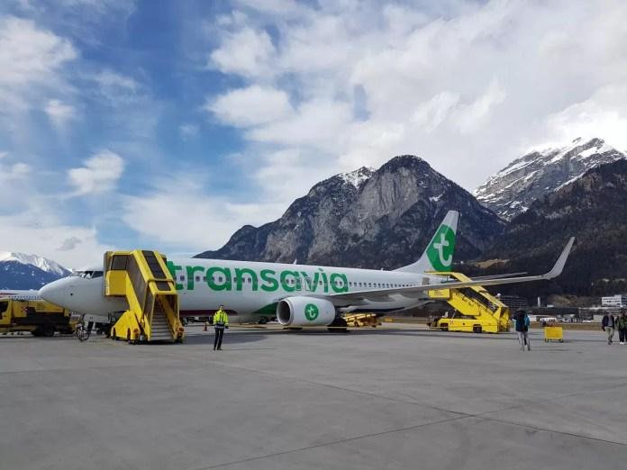 Vliegtuig Innsbruck